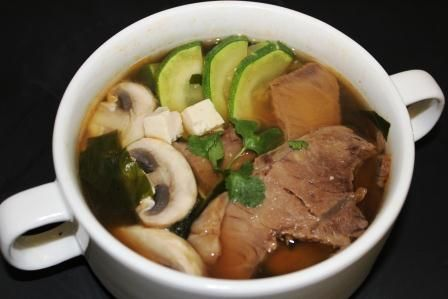 Мисо суп по-корейски 韩式酱汤