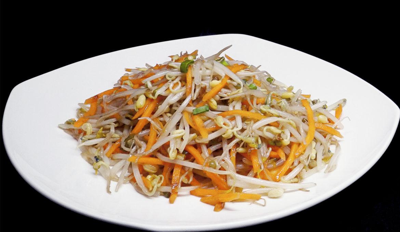 Жареная соя 清炒豆芽