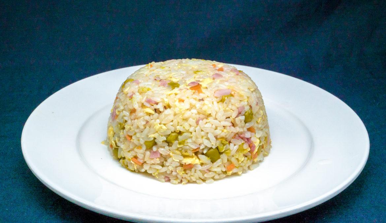 Пёстрый рис 什锦炒饭