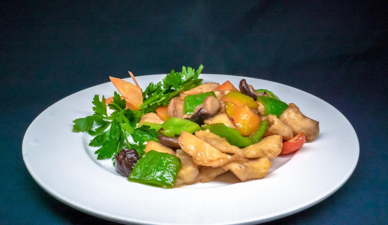 Курица с грибами 香菇鸡块