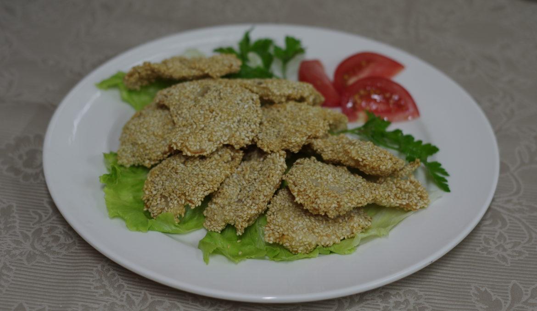 Говядина с кунжутом 芝麻牛肉条