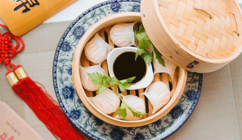 Дим сам с креветками 泰国水晶饺