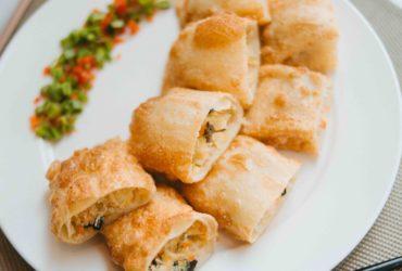 Китайские пирожки из тонкого теста 炸春卷