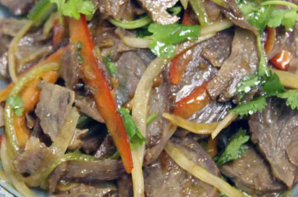 Салат из говядины 酱牛肉