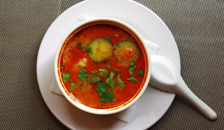 Том Ям (Тайский суп) 冬阴功汤